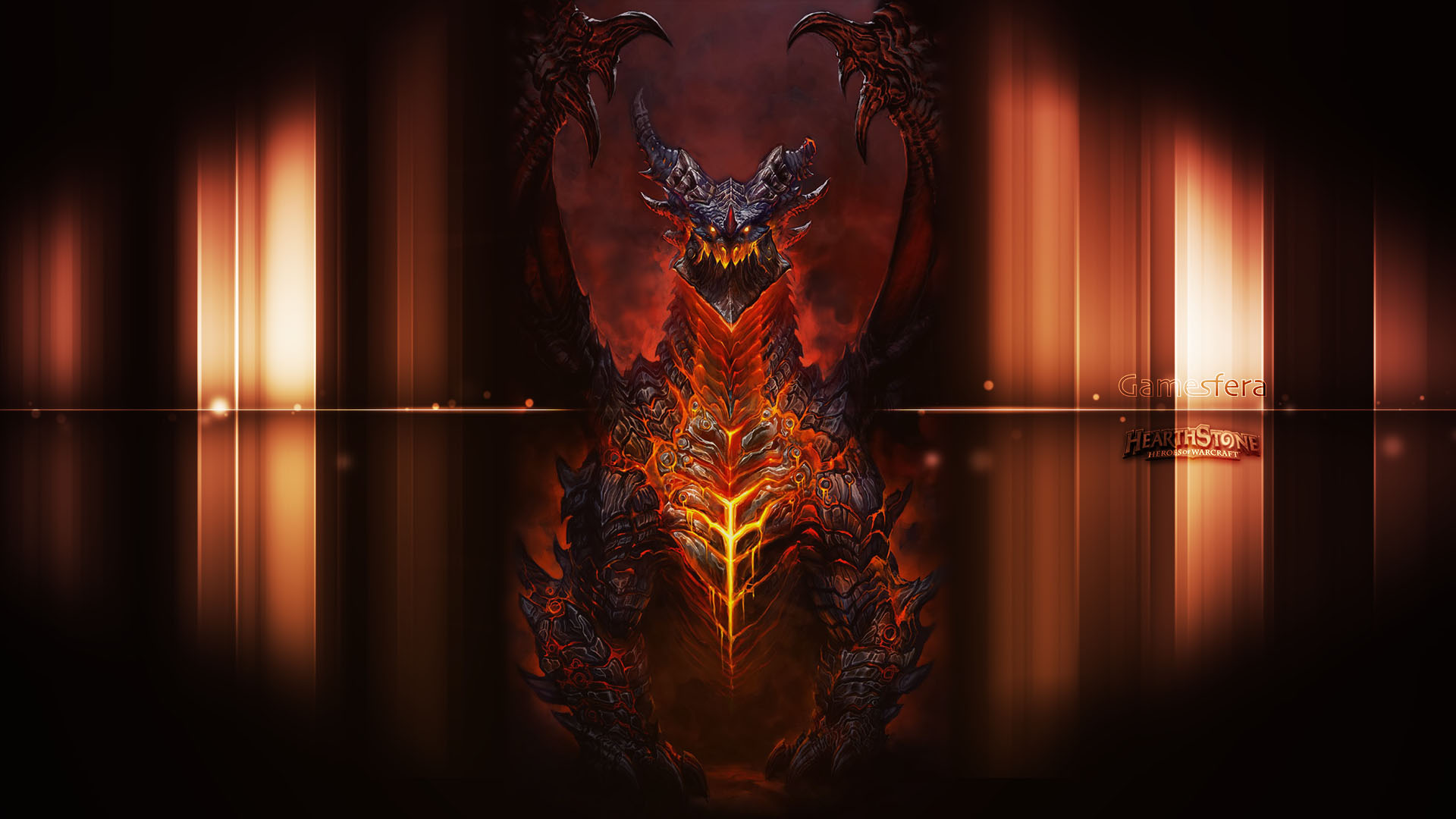 Seguir leyendo Nuevo Wallpaper de Hearthstone: Alamuerte (Deathwing ...: gamesfera.com/category/wallpapers